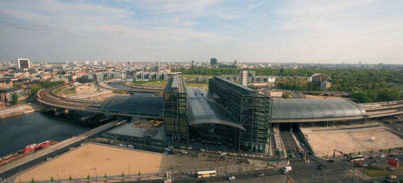 Hauptbahnhof Berlin © Zeitort Berlin